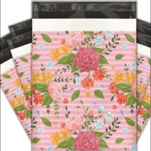 Other - 20 - 10x13 FLORAL POLY MAILER SHIPPING ENVELOPES